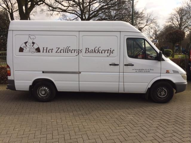 Bezorgservice van Het Zeilbergs Bakkertje