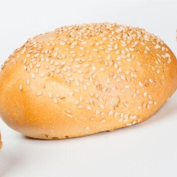 Hard sesam broodje