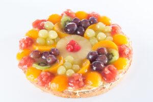 H.W. Vers fruit vlaai