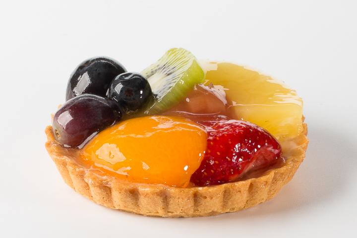 Vers fruit gebakje