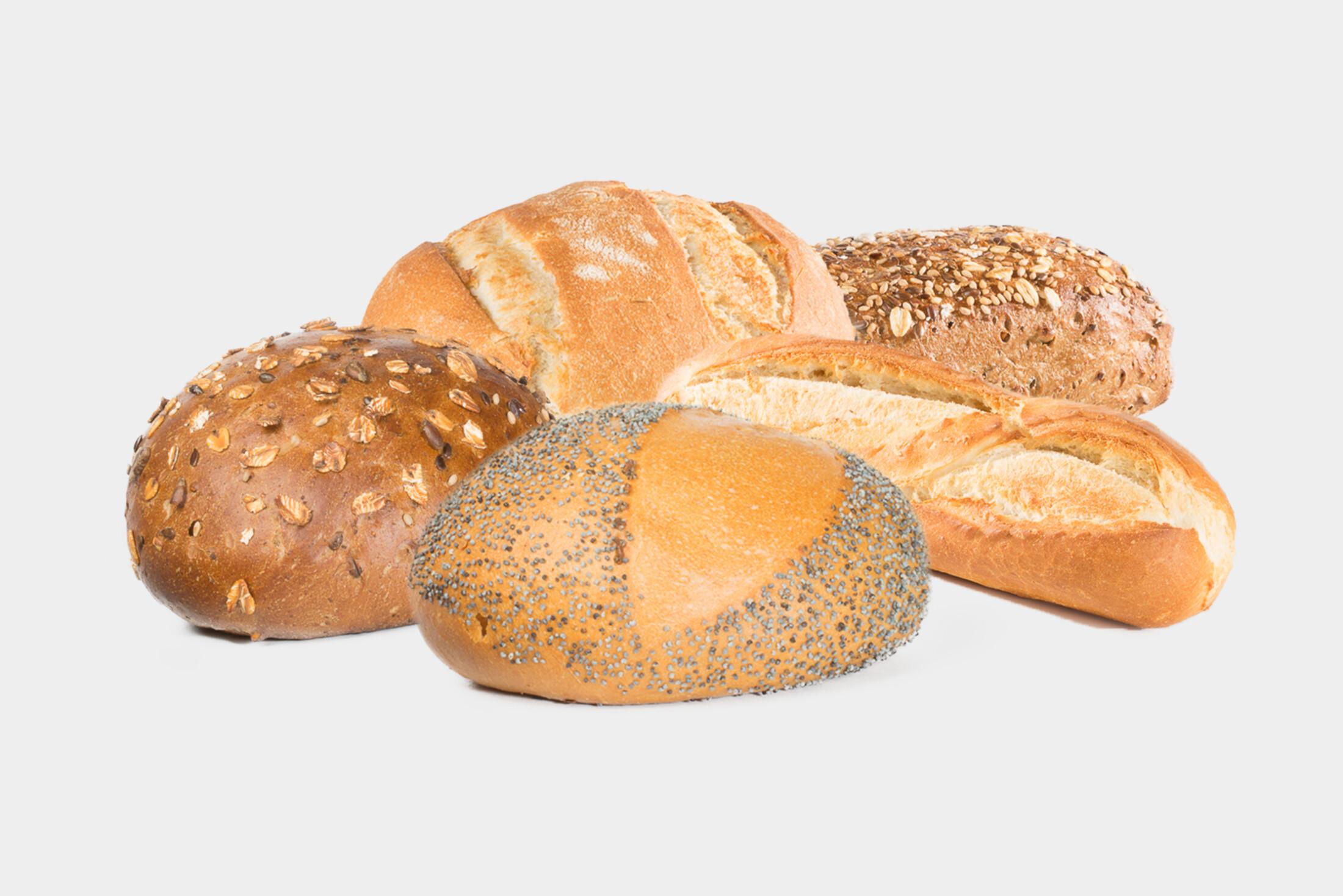 Gesorteerde broodjes
